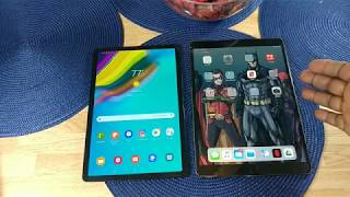 "Samsung Galaxy Tab S5e vs Apple iPad Pro 10.5"" Speakers Comparison"