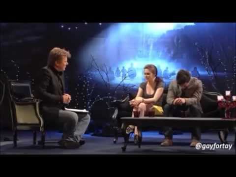 Taylor Lautner and Kristen Stewarts Funniest Interviews and Moments