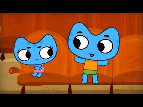 Мультики - Котики, вперед! - Все серии - Мультфильмы для детей про котят - Часовой сборник
