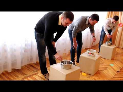 Игра с папами. ДОУ №8 Малыш г. Шахтёрск старшая группа