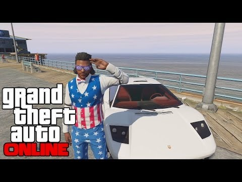 GTA 5 Online Multiplayer Gameplay - GTA Online - Independence Day Special Update