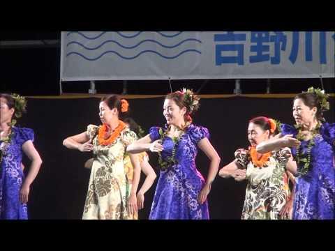 ハワイアンフラ吉野川フェスティバル2011