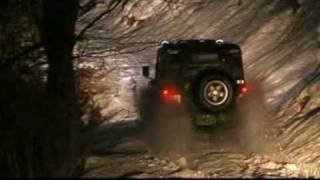 Land Rover Defender 90 Snow Off Road Swiss Alps
