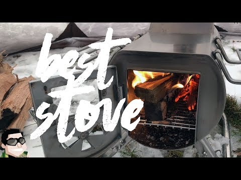 Best Wood Stove for Winter Camping by GStove!!