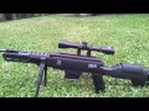 Black Ops Tactical Sniper Pellet Gun Coke Can Test# 2 @ 85yards!!!