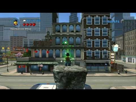 LEGO City Undercover - All 16 Gang Arrests Completed