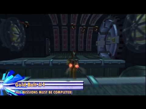 Ratchet & Clank (HD) - All Skill Points & Gold Bolts (Gemlik Base)