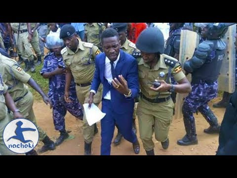 BREAKING: Famous African Musician Bobi Wine Brutally Arrested by Uganda Police