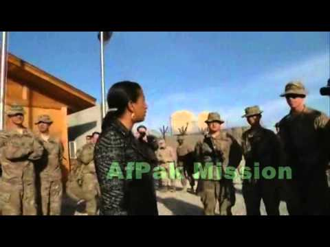 Susan Rice loves US Forces in Afghanistan!