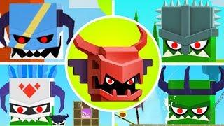 Will Hero - NEW RED DRAGON Vs ALL BOSSES!! [Mobile Games]