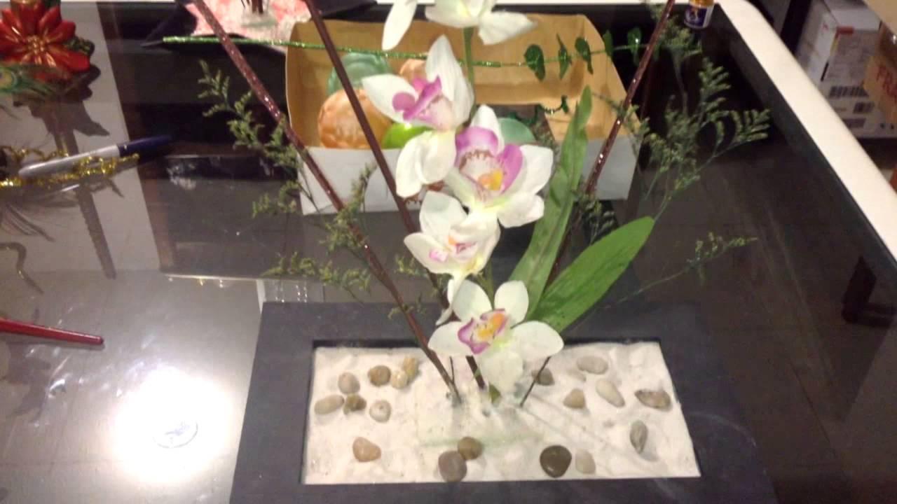 Como hacer arreglos florales navide os youtube - Arreglos navidenos faciles de hacer ...