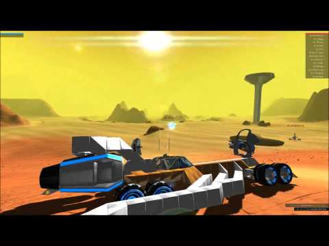 Robocraft - Test Firing Plasma Cannons