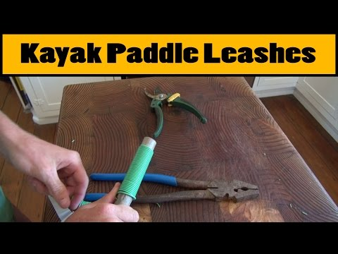 DIY Fishing Rod/Paddle Leashes