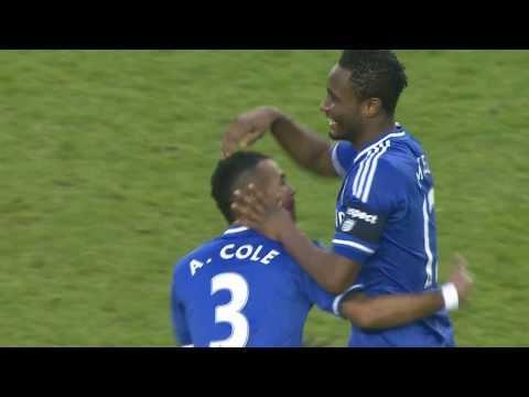 John Obi Mikkel Goal for Chelsea vs Derby County