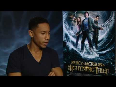 Brandon T. Jackson On Percy Jackson and the Lightning Thief