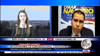 INTERVIEW: Millennial Candidate Omar Navarro Challenges Mad Maxine Waters For Congress