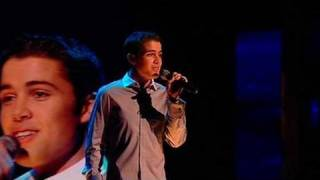 The X Factor 2009 - Joe McElderry: Open Arms - Live Show 9 (itv.com/xfactor)