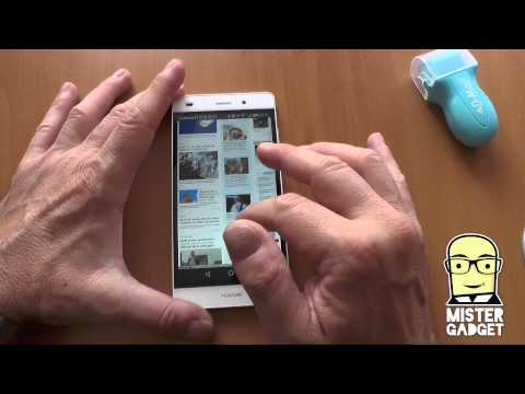 Huawei P8 lite: primo contatto da mistergadget.net
