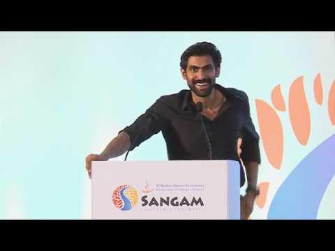 IITMAA Sangam 2018 Keynote address - Rana Daggubati thumbnail