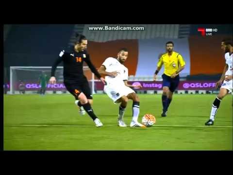 Xavi Hernandez Goal with Al Sadd   Al Sadd vs Umm Salal 2 1 17 9 2015