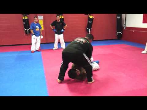 How to do a  Shotokan Karate | MMA | Grappling | Arm bar, Key lock, Clinch, Take down, Leg sweep Image 1