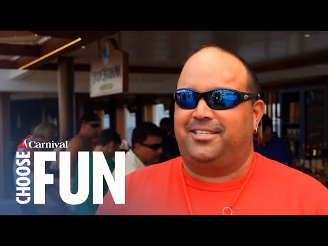 Carnival s RedFrog Rum Bar & BlueIguana Tequila Bar - Cruise Onboard Activities