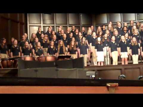 Briarwood Christian School 5th & 6th Choir Concert