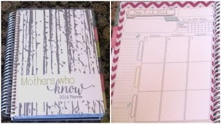 Mother's Who Know & Mom on the Go Planner Vrs Erin Condren REVIEW! 2016