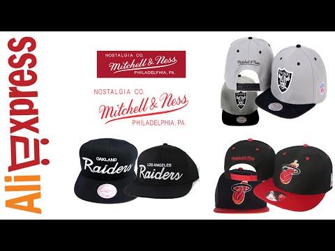Unboxing Aliexpress #24  - Bonés Mitchell & Ness Raiders & Miami Heat