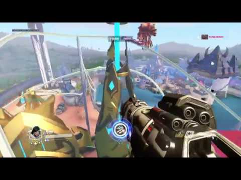 Overwatch Blizzard World Glitch: Let's Explore the World 1