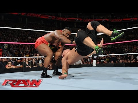 John Cena vs. Big E - United States Championship Match: Raw, Oct. 5, 2015