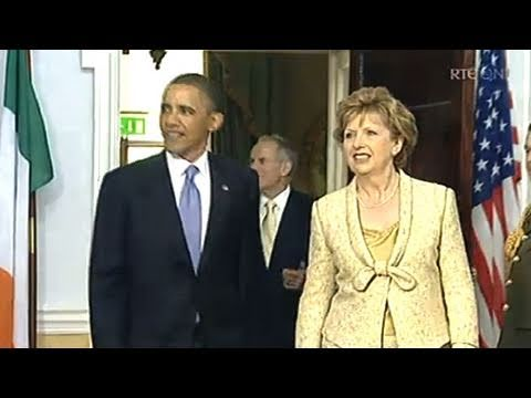 Watch the visit of US President Barack Obama live here: http://www.rte.ie/ US President Barack Obama and First Lady Michelle Obama's are in Ireland for a 24 ...