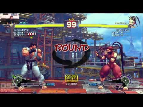 SGC Iron Man of Gaming 2013 Training - SSF4 AE 2012 pt2