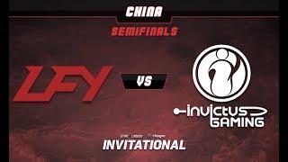 LFY vs iG Game 1 - SL-i Invitational: CN Qualifier Semifinals -@LuminousInverse @tsunami643