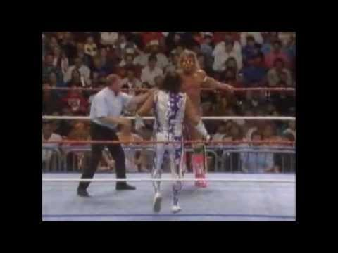 The Ultimate Warrior vs Randy Savage - Wrestlemania VII   Part 2