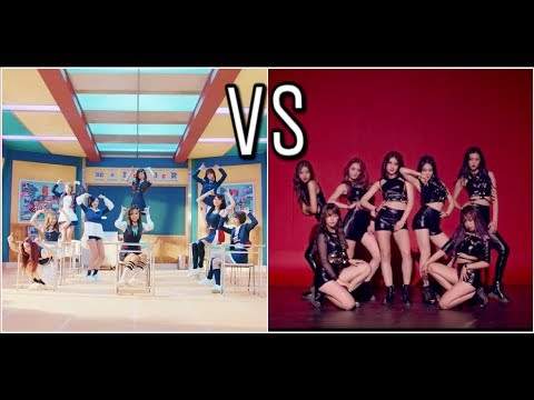 Twice Signal VS IOI Whatta man (speed x2 DANCE)
