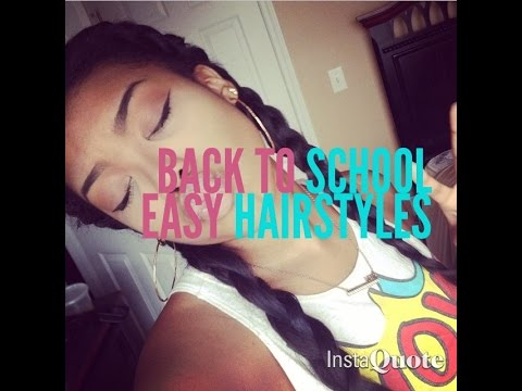 Vixen Sew In Show&Tell| Easy Quick Back To School Hairstyles