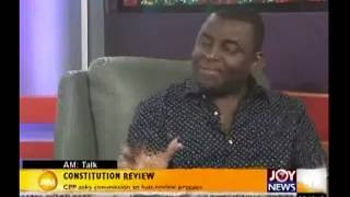 Constitution Review - AM Talk (28-7-14)