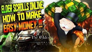 Elder Scrolls Online | How To Make Easy Money | PS4/Xbox One
