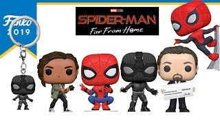 Spider Man Far From Home | Funko Pop Toy Fair 2019 First Look
