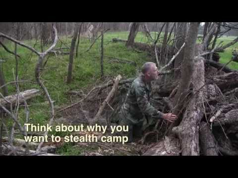 Stealth Camping is the act of secretly camping in a public or private area and then leaving without being detected. Used by commandos on secret missions, it ...