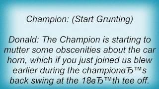 Watch Adam Sandler Champion video