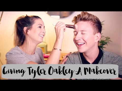Giving Tyler Oakley A Makeover | Zoella thumbnail