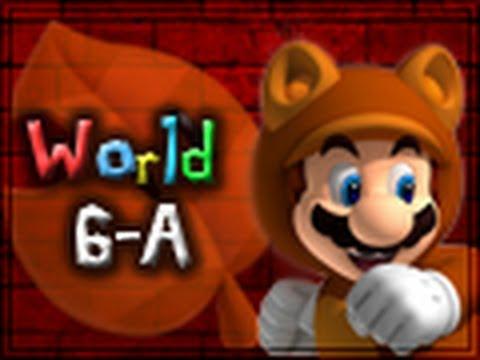 Super Mario 3D Land Walkthrough World 6-A