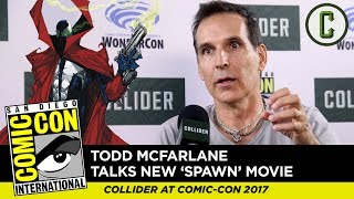 Todd McFarlane on Spawn Reboot, Casting, and More - Collider at SDCC 2017