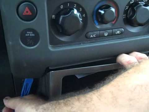 Nissan Pathfinder Car Stereo Removal and Repair 2005-2008