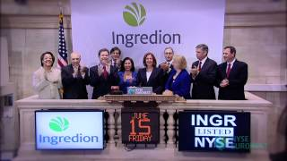Corn Products International Changes Name to Ingredion Incorporated rings the NYSE Opening Bell