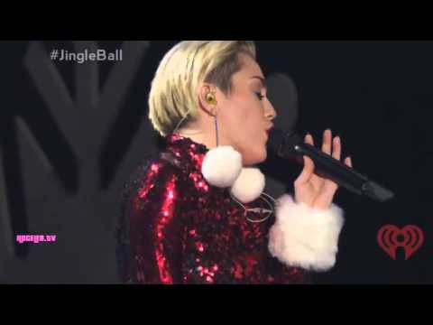Miley Cyrus - Adore You (live At Z100's Jingle Ball 2013) video