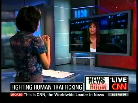 CNN Human Trafficking Segment featuring Nancy Rivard
