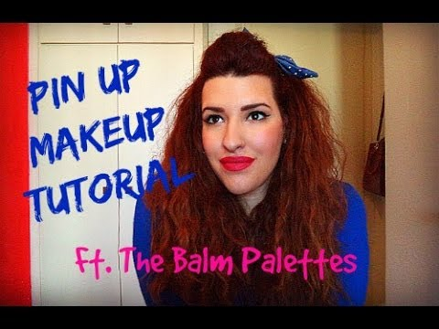 Pin-up Μακιγιάζ Ft. The Balm Palettes